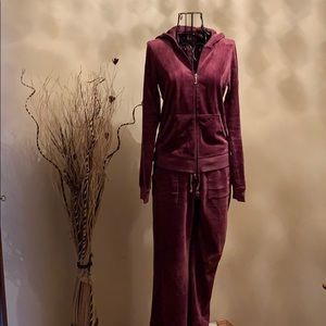 Juicy Velvet Track Suit